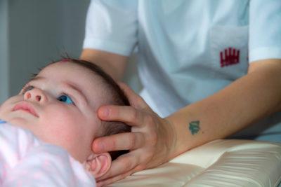 Trattamento cranio sacrale pediatrico